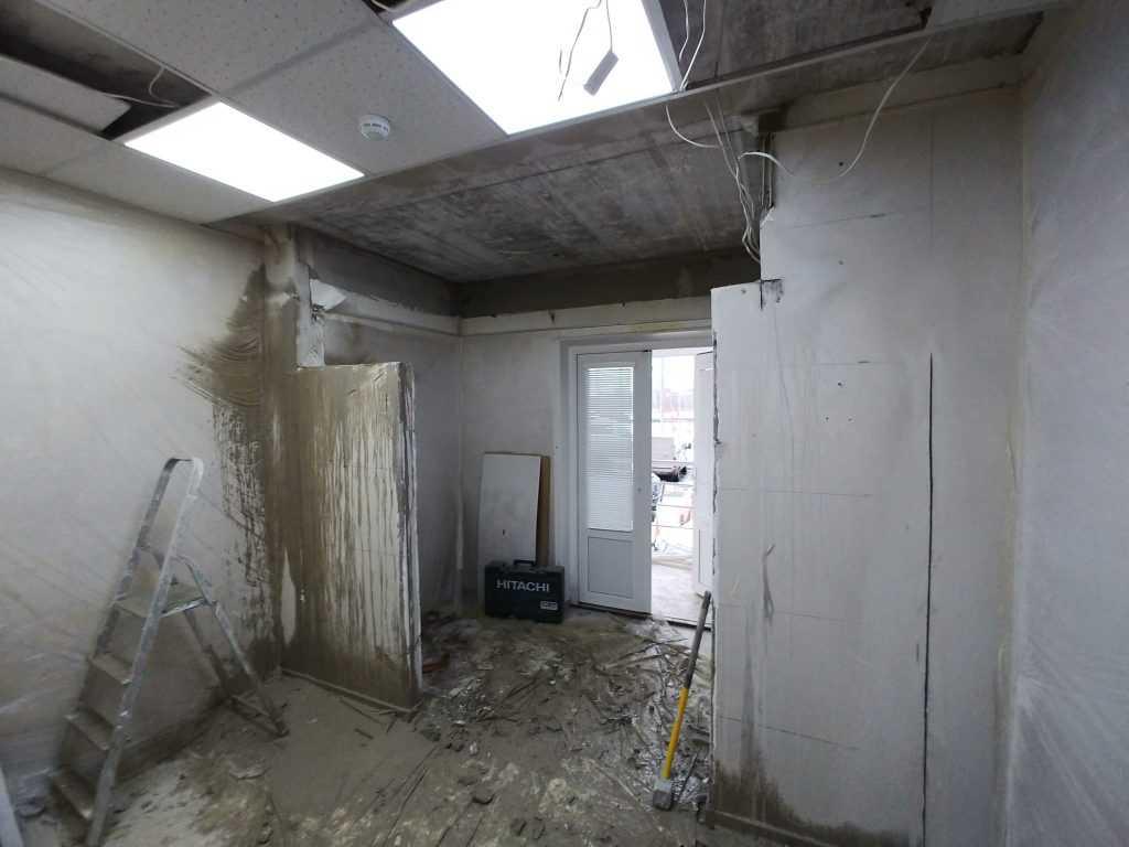 демонтаж стен фото 2