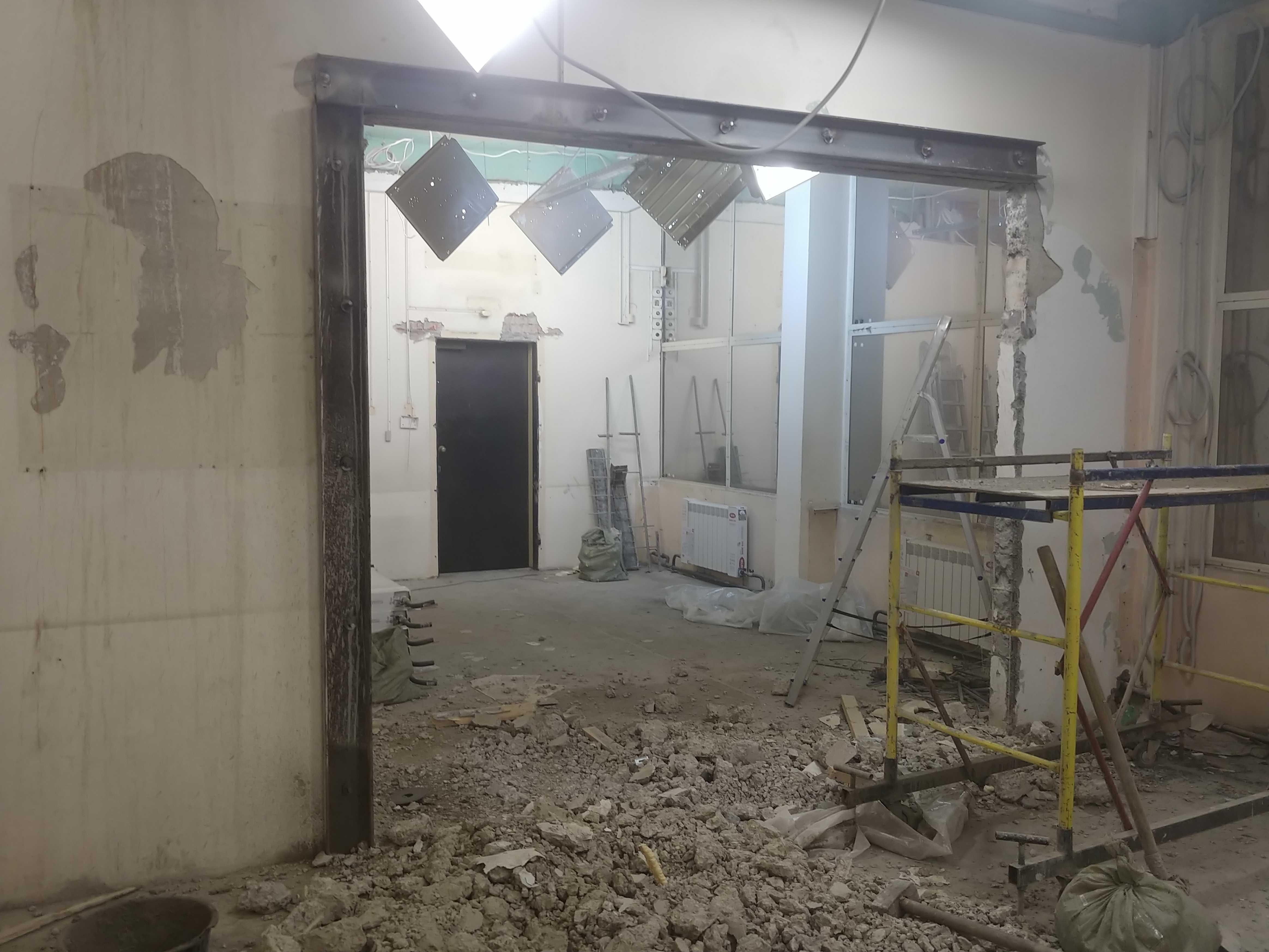 Алмазная резка бетона без пыли
