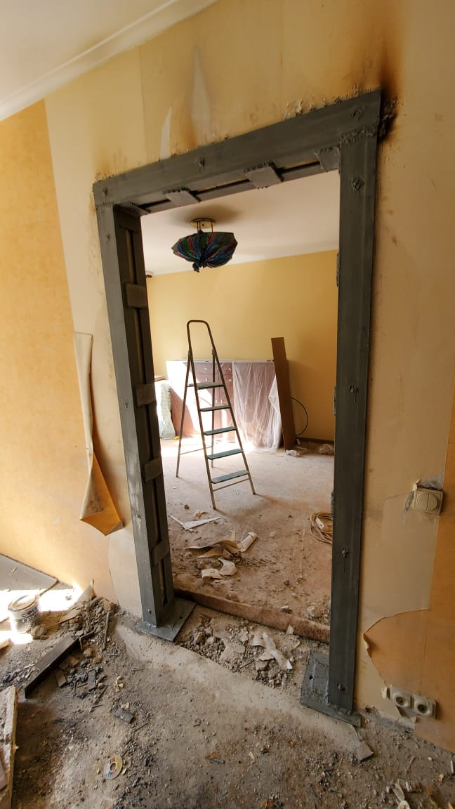 Сделать проем в стене панельного дома Фото 1