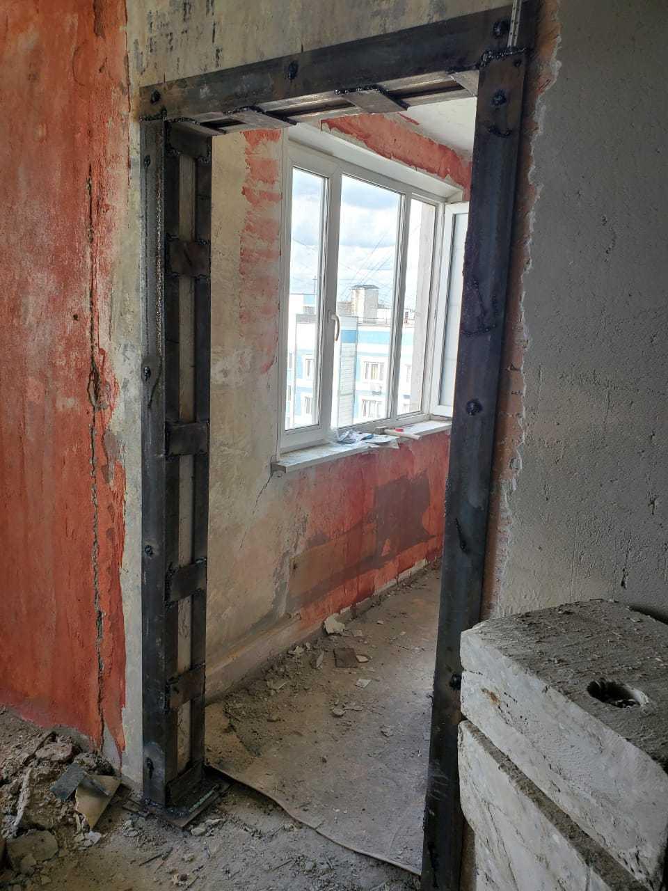 Сделать проем в стене панельного дома Фото 2