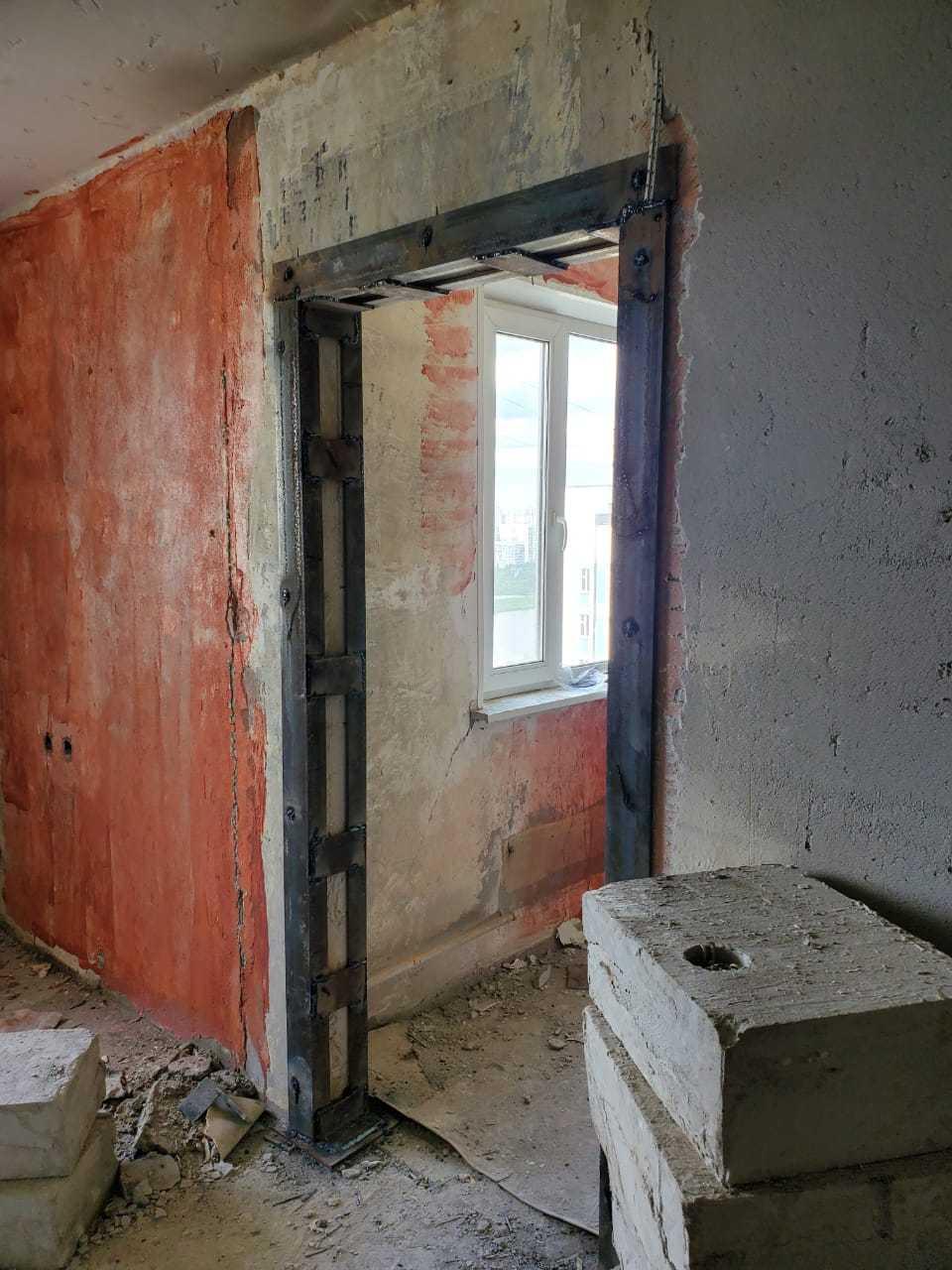 Сделать проем в стене панельного дома Фото 3