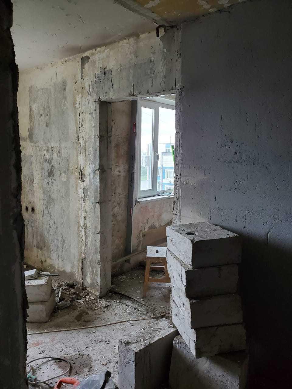 Сделать проем в стене панельного дома Фото 4