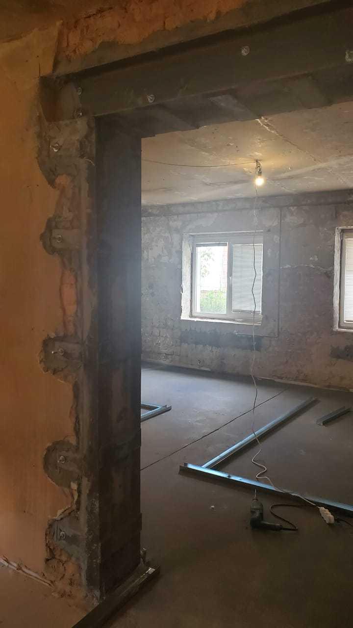 Сделать проем в стене панельного дома Фото 5