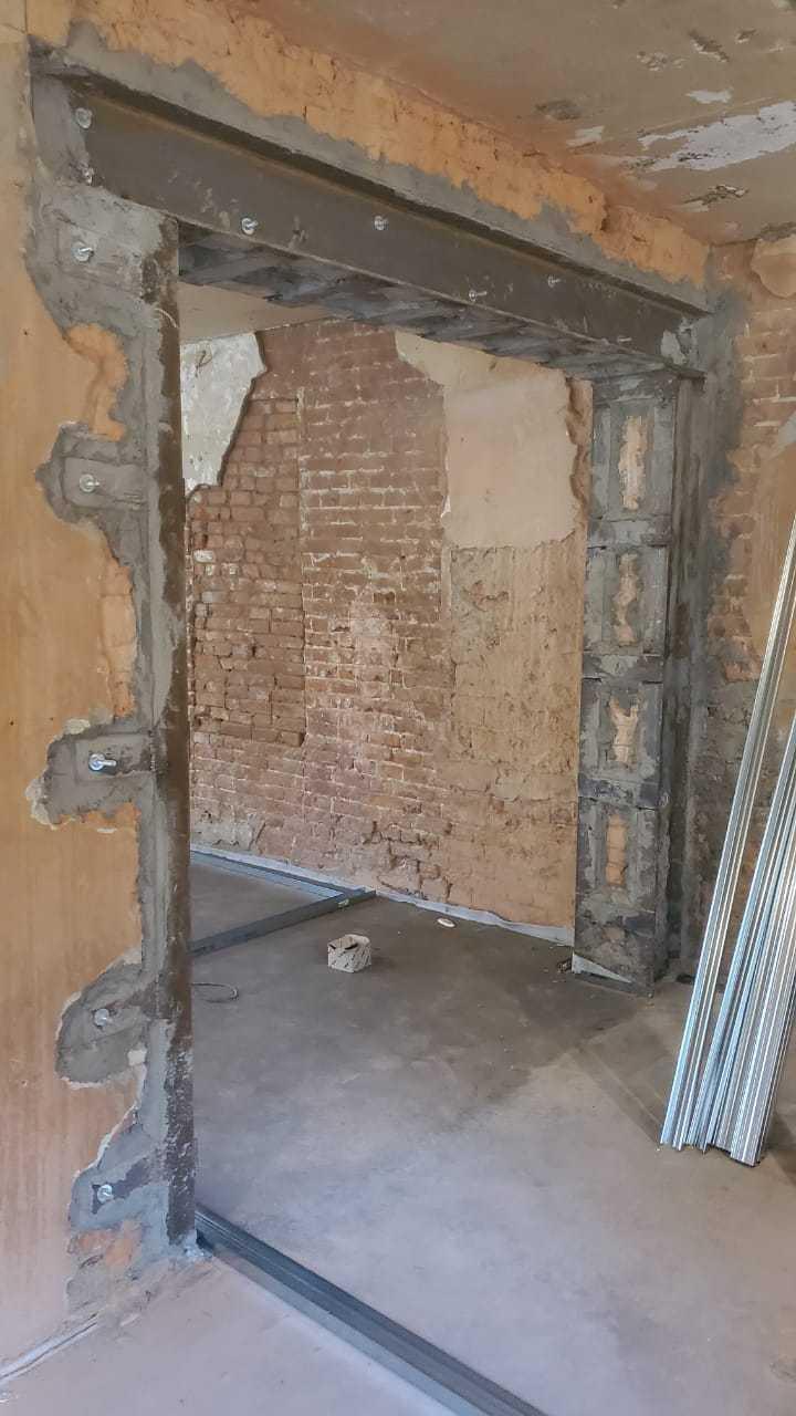 Сделать проем в стене панельного дома Фото 6